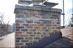 Chimney repair - Tuckpointing, Brick and Mortar Repair